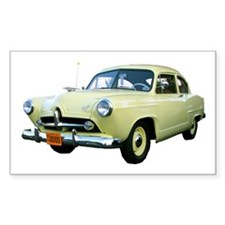 Helaine's Yellow Henry J Too Rectangle Decal