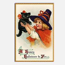 Halloween Design 1 Postcards (Package of 8)
