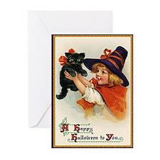 Halloween Design 1 Greeting Cards (Pk of 10)