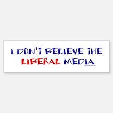 Liberal Media Bumper Bumper Bumper Sticker
