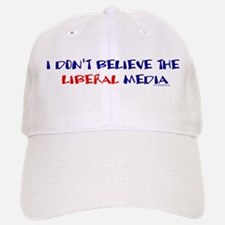 Liberal Media Baseball Baseball Cap