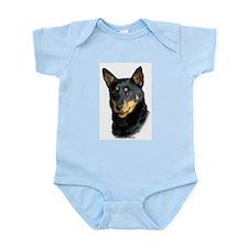 Lancashire Heeler 9W085D-093 Infant Bodysuit