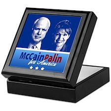 McCain Palin for America Keepsake Box