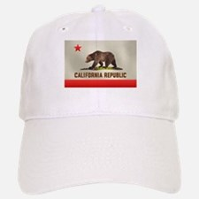 California Bear Flag Baseball Baseball Cap