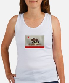California Bear Flag Women's Tank Top
