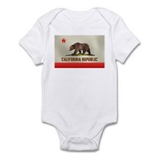 California Bear Flag Infant Creeper