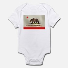 California Bear Flag Infant Creeper