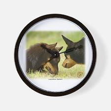 Lancashire Heeler 9R038D-242 Wall Clock