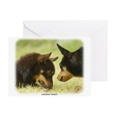 Lancashire Heeler 9R038D-242 Greeting Card