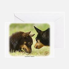Lancashire Heeler 9R038D-242 Greeting Card