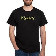 Monette in Gold - T-Shirt