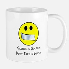 Duct Tape is Silver Mug