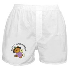 Halloween Bear Witch Boxer Shorts