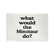 Minotaur Rectangle Magnet (10 pack)