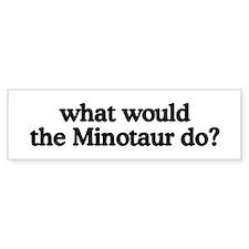 Minotaur Bumper Bumper Sticker