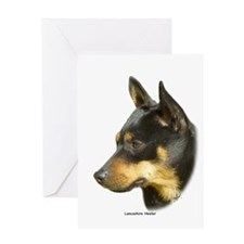 Lancashire Heeler 9R049D-16 Greeting Card