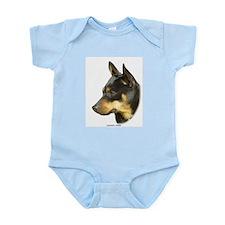 Lancashire Heeler 9R049D-16 Infant Bodysuit