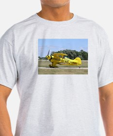 Yellow Pitts Ash Grey T-Shirt