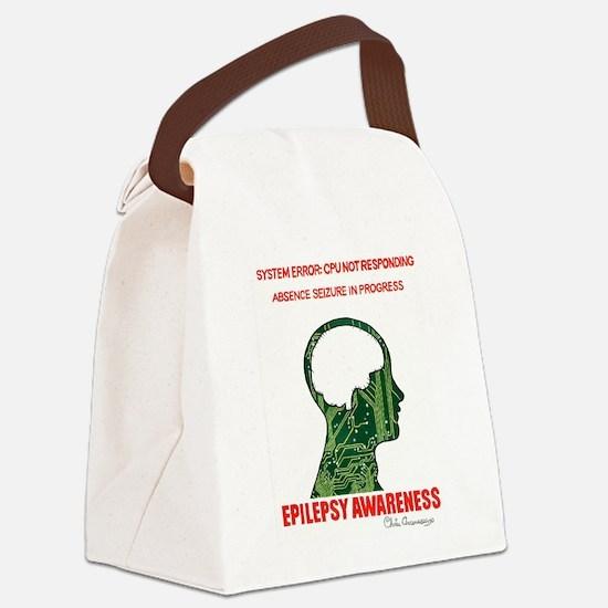 SYSTEM ERROR Canvas Lunch Bag