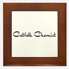 Catfolk Chemist Framed Tile