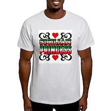 Sicilian Princess Ash Grey T-Shirt