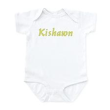 Kishawn in Gold - Infant Bodysuit