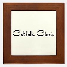 Catfolk Cleric Framed Tile