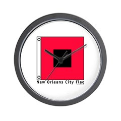 New Orleans City Flag Wall Clock