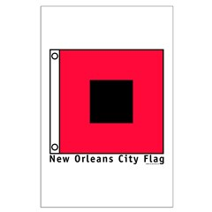 New Orleans City Flag Posters