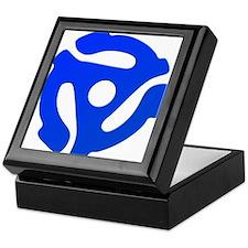 Blue 45 RPM Adapter Keepsake Box
