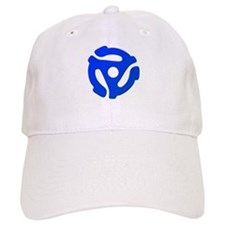 Blue 45 RPM Adapter Baseball Cap