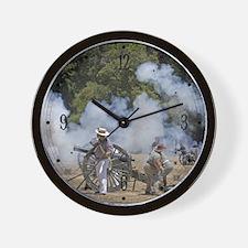 Canon Fire 1 Wall Clock