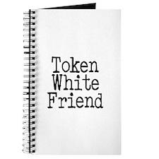 Token White Friend Journal