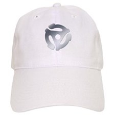 Silver 45 RPM Adapter Baseball Cap