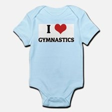 I Love Gymnastics Infant Creeper
