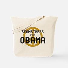 Seamstress for Obama Tote Bag