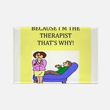 therapist gifts t-shirts Rectangle Magnet (10 pack