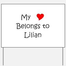 Lilian Yard Sign
