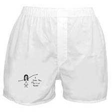 'I Love You' Boxer Shorts