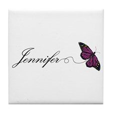 Jennifer Tile Coaster