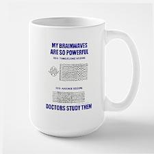 MY BRAINWAVES Large Mug