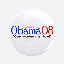 """""""Obama Now"""" 3.5"""" Button (100 pack)"""