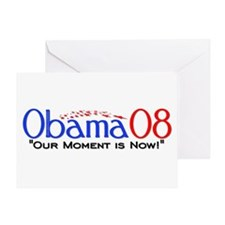 """Obama Now"" Greeting Card"