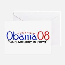 """Obama Now"" Greeting Card"