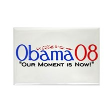 """""""Obama Now"""" Rectangle Magnet"""