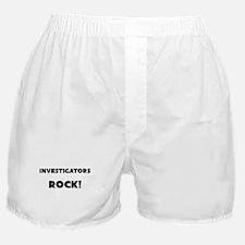 Investigators ROCK Boxer Shorts