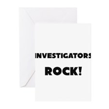 Investigators ROCK Greeting Cards (Pk of 10)