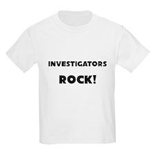 Investigators ROCK T-Shirt