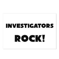 Investigators ROCK Postcards (Package of 8)