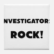 Investigators ROCK Tile Coaster